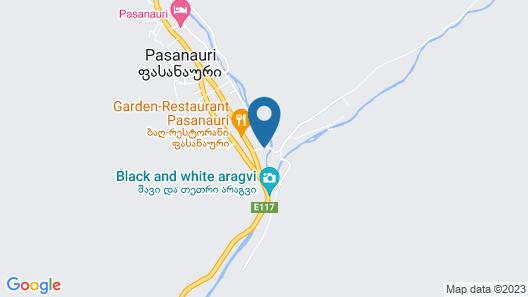 River side pasanauri Map