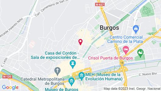 Hotel María Luisa Map