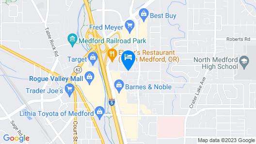 Hampton Inn Medford Map