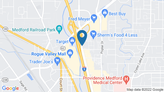 Quality Inn and Suites Airport Map
