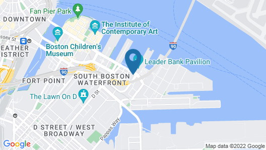 Hyatt Place Boston/Seaport District Map