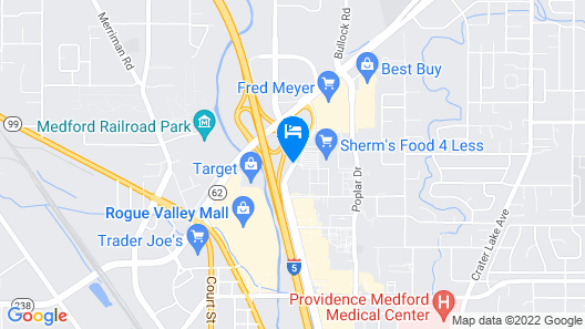 Red Roof Inn & Suites Medford - Airport Map
