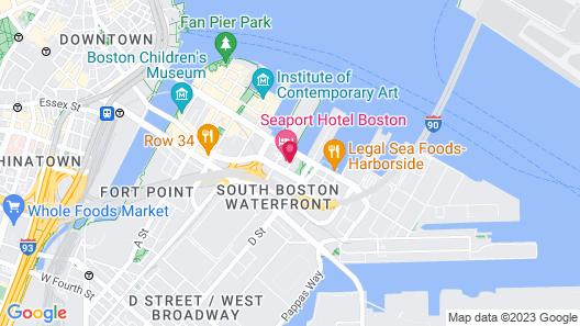 Seaport Hotel Boston Map