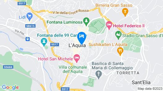 Hotel L'Aquila Map