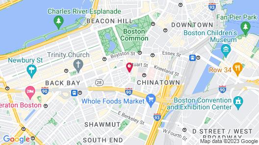 Found Hotel Boston Common Map