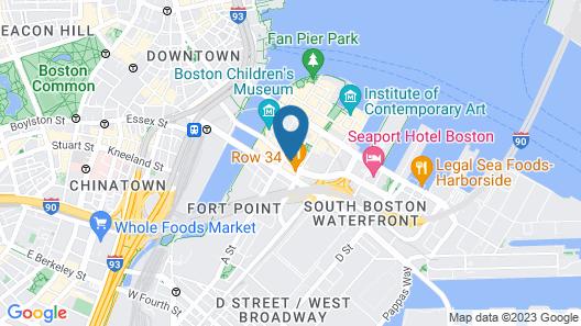 Residence Inn by Marriott Boston Downtown/Seaport Map