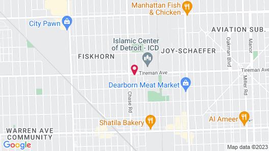 The Dearborn Suites Map