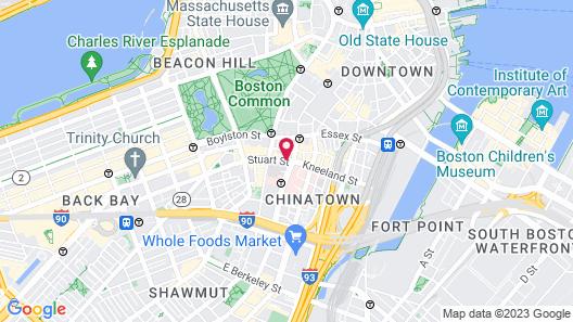 HI Boston Map