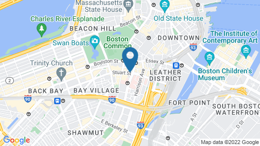 HI Boston Map