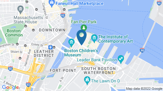 YOTEL Boston Map