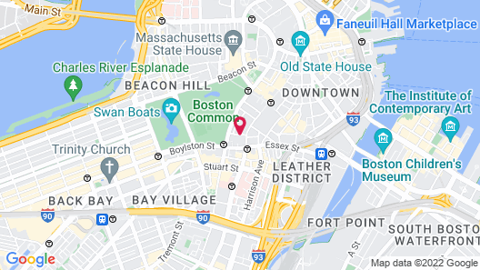 The Ritz-Carlton, Boston Map