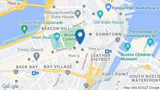 The Ritz-Carlton, Boston Map