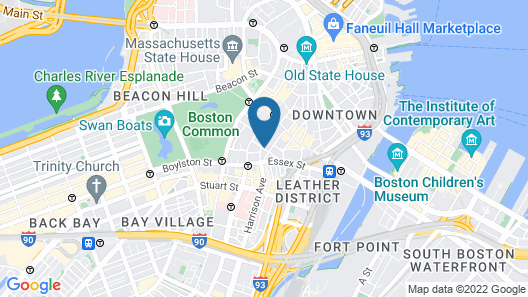 Hyatt Regency Boston Map