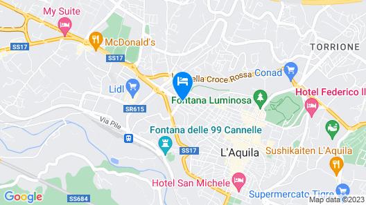 Via Roma B&B Map