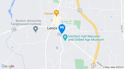 Hampton Terrace Inn Map