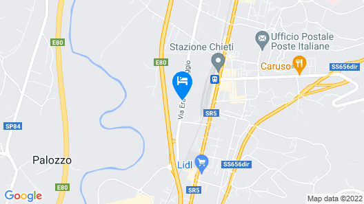 Best Western Hotel Parco Paglia Map