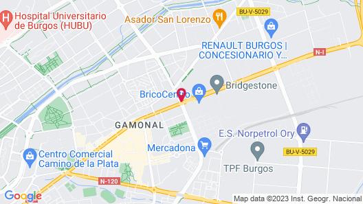 Hostal Acanto Map