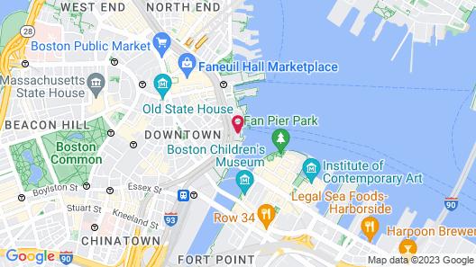 Boston Harbor Hotel Map