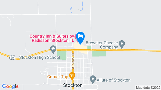 Country Inn & Suites by Radisson, Stockton, IL Map
