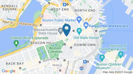 Fifteen Beacon Map