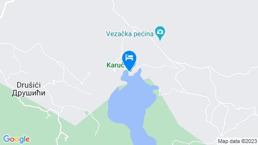 Paradise House Skadar Lake Map