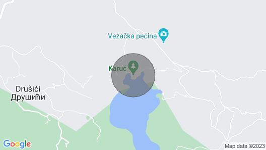 Paradise House - National Park Skadar Lake Map