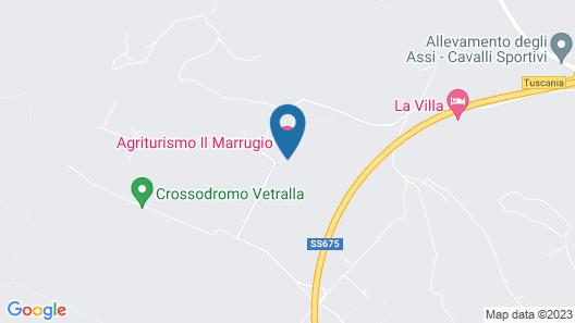 Agriturismo il Marrugio Map