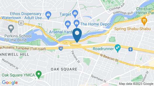 Charles River Motel Map