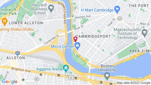 Courtyard by Marriott Boston-Cambridge Map