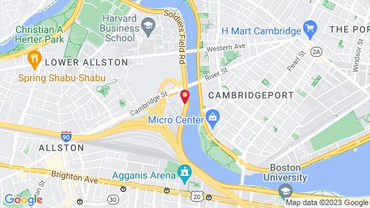 DoubleTree Suites by Hilton Hotel Boston - Cambridge Map