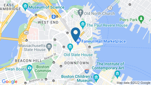 The Bostonian Boston Map
