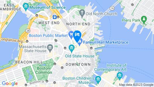 The Bostonian Boston Map