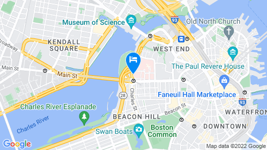 The Liberty, a Marriott Luxury Collection Hotel, Boston Map