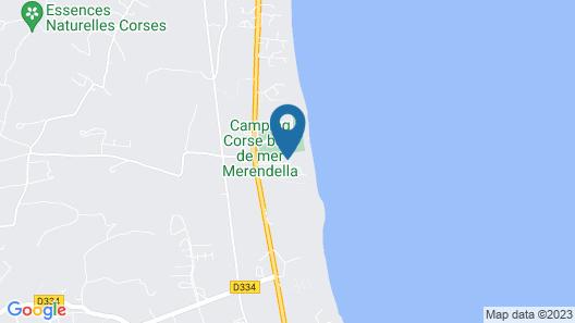 Hotel Restaurant San Lucianu Map