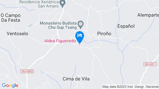 Aldea Figueiredo Map