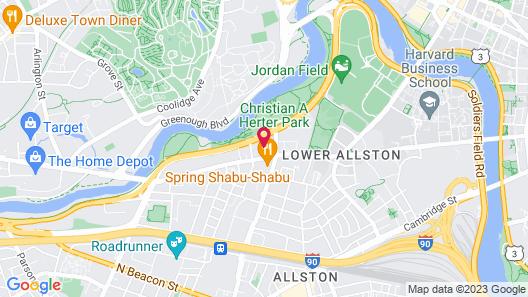 Studio Allston Hotel Map