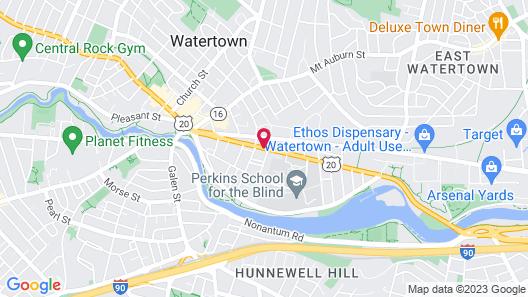 The Inn on Arsenal Map