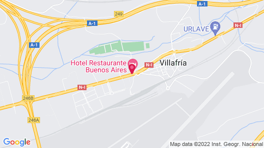Hotel Buenos Aires Map