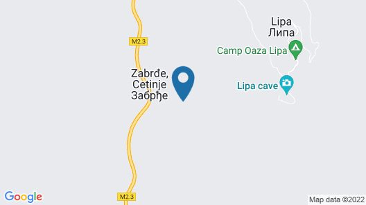 House close to Cetinje Map