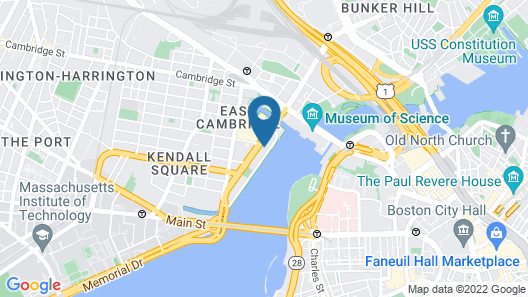 Royal Sonesta Boston Map