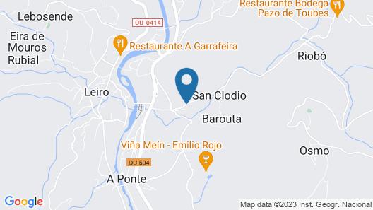Eurostars Monumento Monasterio de San Clodio Hotel & Spa Map