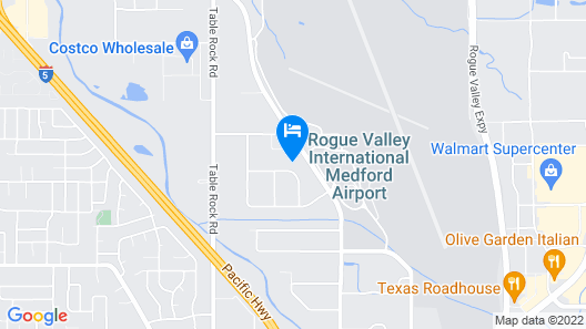 Candlewood Suites Medford, an IHG Hotel Map