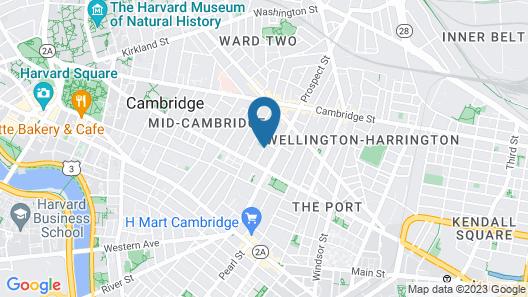 Chez Pat in Cambridge Map