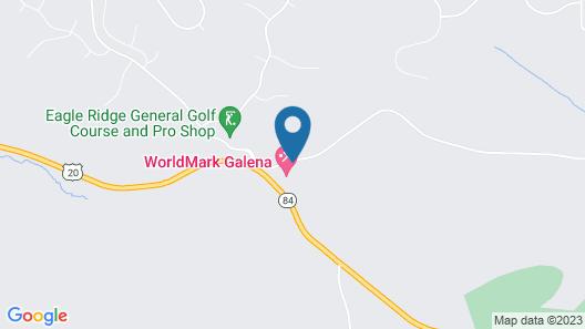 WorldMark Galena Map