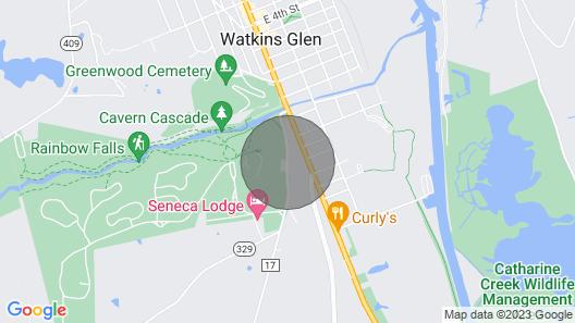 Watkins Glen 3-bedroom Suites Unit 2 Map
