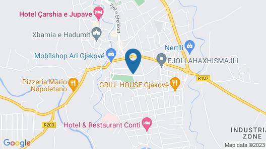 Kulla Dula Guesthouse Map