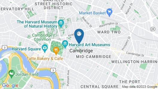 A Bed & Breakfast in Cambridge Map