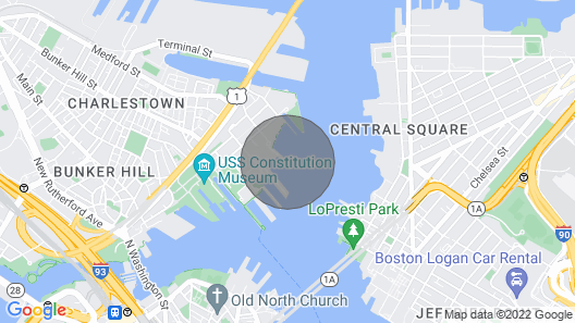 Your Floating Suite in Boston Harbor   Map