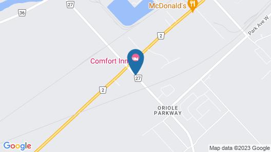 Travelodge by Wyndham Chatham Map