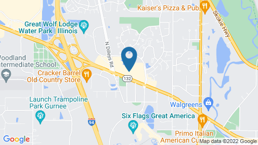 Country Inn & Suites by Radisson, Gurnee, IL Map